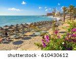 Beach In Benalmadena. Malaga...