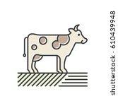 vector icon style illustration...   Shutterstock .eps vector #610439948
