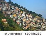 rio de janeiro brazil ...   Shutterstock . vector #610456292