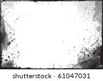 abstract grunge border design... | Shutterstock .eps vector #61047031