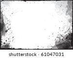 abstract grunge border design... | Shutterstock .eps vector #61047031