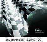 checkered background  eps10 | Shutterstock .eps vector #61047400