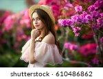 Beautiful  Girl In Pink ...