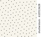 minimal graphic geometric... | Shutterstock .eps vector #610513628