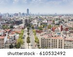 mexico city   2nd march 2017 ... | Shutterstock . vector #610532492