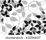 floral background with a... | Shutterstock .eps vector #61056637