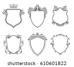 vector set of different... | Shutterstock .eps vector #610601822