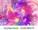 abstract fantasy swirly texture....   Shutterstock . vector #610648475