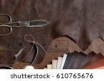 crafting tools and leather...
