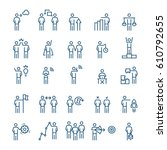business people  management... | Shutterstock .eps vector #610792655
