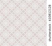 abstract pattern in arabian... | Shutterstock . vector #610812128