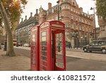 Phone Box In London Westminste...