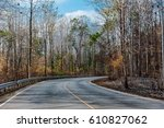 the route  | Shutterstock . vector #610827062