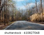 the route  | Shutterstock . vector #610827068