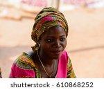 bohicon  benin   jan 12  2017 ... | Shutterstock . vector #610868252