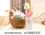 Beautiful Easter Basket And...