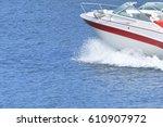 Running Motor Boat