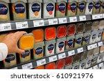 the netherlands   october 13 ...   Shutterstock . vector #610921976