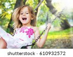 child. | Shutterstock . vector #610932572