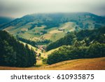 Dreamy Mountain Landscape With...