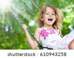 child. | Shutterstock . vector #610943258