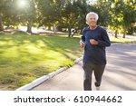 front view of senior man... | Shutterstock . vector #610944662