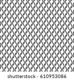 vector illustration of black... | Shutterstock .eps vector #610953086