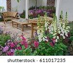 A Contemporary Garden With...