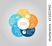 business diagram circle | Shutterstock .eps vector #611021942