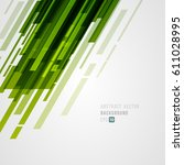 abstract technology bright... | Shutterstock .eps vector #611028995