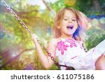 child. | Shutterstock . vector #611075186