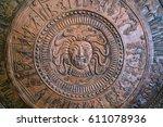 Close Up Detail Of Circular...