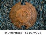 Detail Of Circular Shield On...