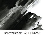 abstract ink background. marble ... | Shutterstock . vector #611143268