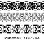 celtic national seamless... | Shutterstock .eps vector #611149466