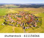 aerial view of beautiful... | Shutterstock . vector #611156066