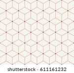 sacred geometry grid graphic... | Shutterstock .eps vector #611161232