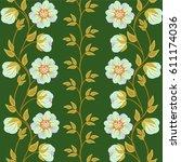 floral background.   Shutterstock .eps vector #611174036