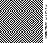 vector seamless pattern.... | Shutterstock .eps vector #611190512
