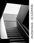 abstract architecture with... | Shutterstock . vector #611224436