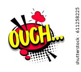 Lettering Ouch  Oops. Comic...