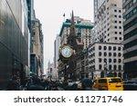 new york city  usa   march 18 ... | Shutterstock . vector #611271746