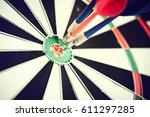 Dart Arrow Hitting In The...