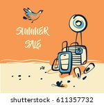 freehand drawn concept image... | Shutterstock .eps vector #611357732