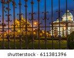 ananta samakhom throne hall... | Shutterstock . vector #611381396