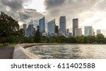 sydney city  cbd landmark...   Shutterstock . vector #611402588