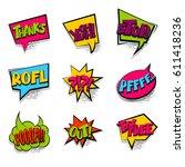 thanks  tax free lettering... | Shutterstock .eps vector #611418236