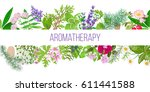 big banner set of popular... | Shutterstock .eps vector #611441588