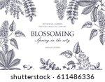 Floral Card Design. Vector...