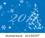 christmas and new year... | Shutterstock .eps vector #61150297